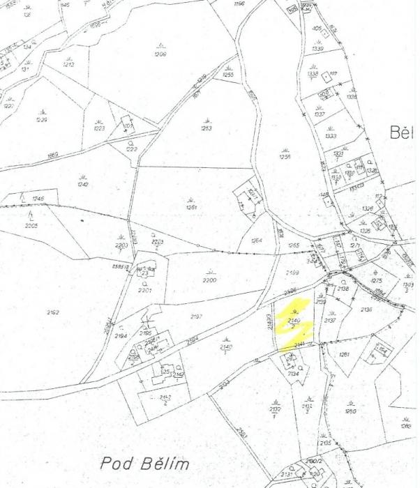Stavební pozemek 1.047m2 v Hanušovicích